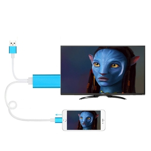 Image 2 - Adapter for Apple to HDMI HD Cable 1080P HD for iPad on for iPhone 5 5S 6 6s 7 Plus Phone Connected to TV Support IOS11 system