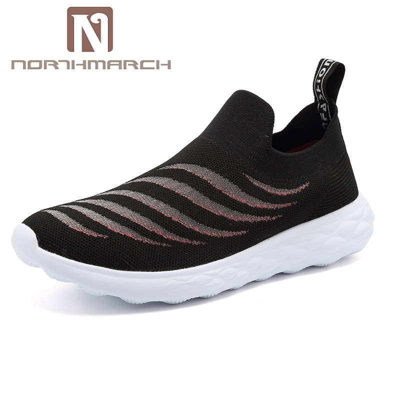 NORTHMARCH Men Shoes 2018 Summer Fashion Men Sneakers Breathable Casual Men Shoes Slip-On Krasovki Men Tenis Masculino Adulto