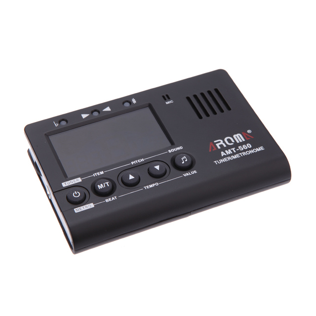 Guitar Tuner with Built-in Mic