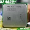 AMD Athlon 64X2 4600 + CPU Процессор (2.4 ГГц/1 М/1000 ГГц) Socket am2 (работает 100% Бесплатная Доставка) 940 pin продать X2 4400 + 4800 +