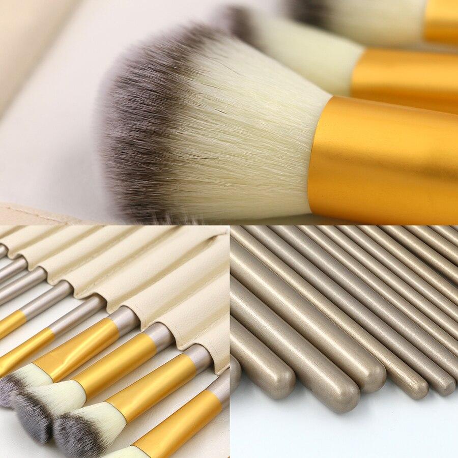 24pcs Professional Makeup Brushes Сапалы Кабуки - Макияж - фото 5