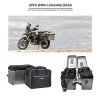 For bmw f800gsa Motorcycle luggage bags Black expandable Inner Bags For BMW R 1200 GS adventure WATER COOLED 2013 2017