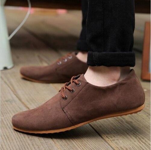 Hombres 1 Para Zapatos 2 Moda Hombre Cuero De Transpirables Oxford Gamuza Casuales 18 47wqfZfz