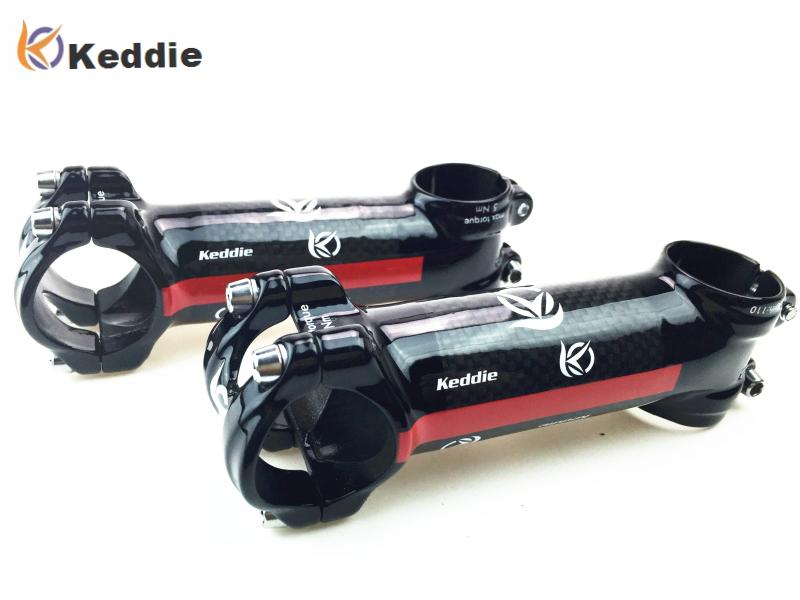 Keddie Road Bicycle Pro Stem 31.8mm 3k Carbon + Alum. - Wielersport