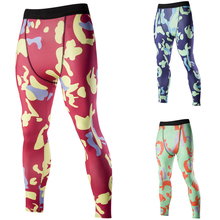 2016 Summer New Men's Leisure   Printing Compressed Pants
