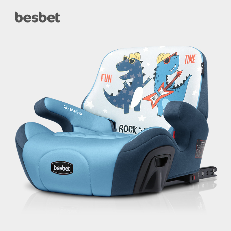 2019 New Child Safety Seat Increase Pad Big Child Car Portable Simple Seat Cushion Universal ISOFIX  Car Seat Booster 3-12Y