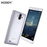 XGODY Y22 3 גרם סמארטפון Smartphone 6 Inch אנדרואיד 5.1 MTK6580 Quad Core 1 טלפון סלולרי נייד GPS WiFi 2400 mAh + 16 גרם 2 חזרה מצלמות