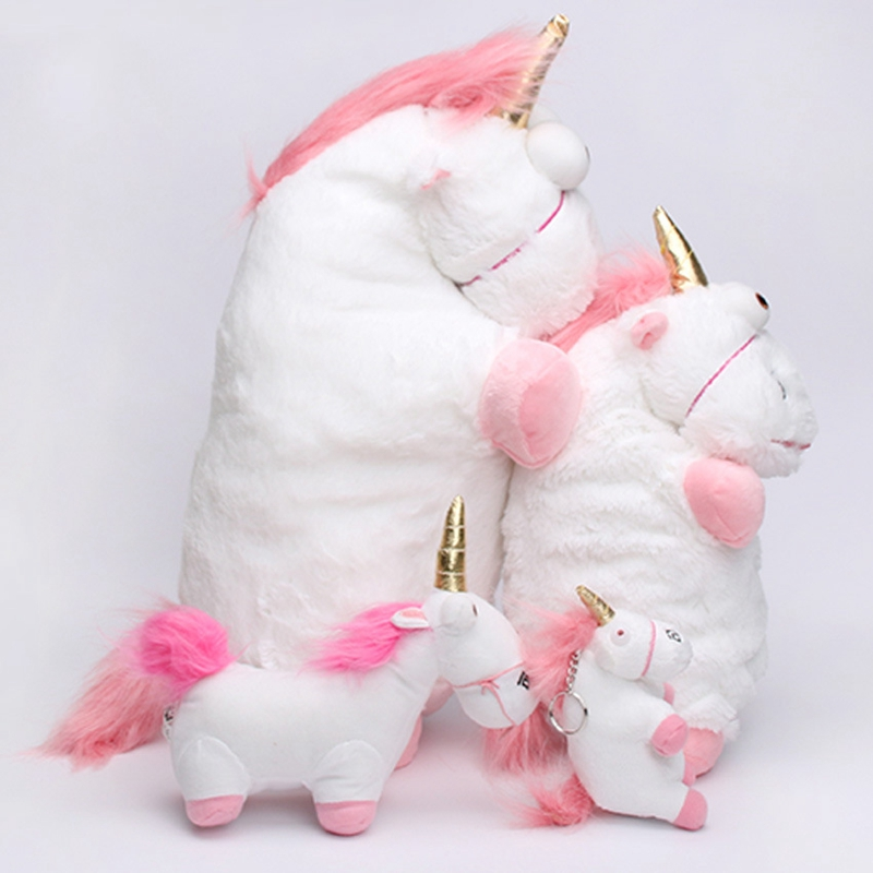 60CM Fluffy  Unicorn Horse Minions Stuffed & Plush Animals Stuffed Animals Plush Toys