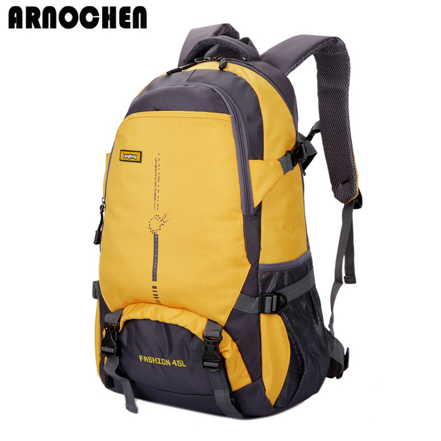2018 Fashion Waterproof Nylon Backpack Men Travel Backpack Multifunction Bags Male Laptop Backpacks sac a dos ARNOCHEN WYQ271
