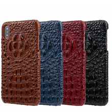 CKHB натуральная кожа чехол для iPhone 6 S 7/8 плюс X мобильный телефон Deluxe 3D крокодил узор ретро тонкий Чехол