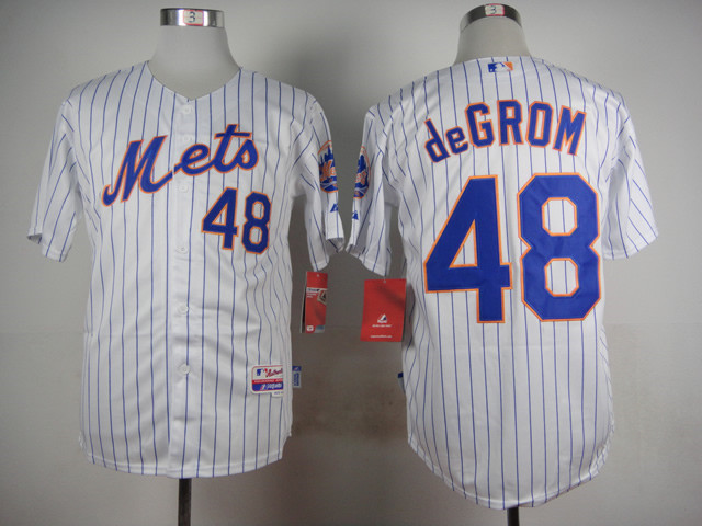 the latest 7196d bbf25 2015 new New York Mets Jersey 48 Jacob deGrom Jersey Number ...