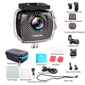30 M cámara Impermeable de la Acción Magicsee P3 VR panorámica cámara de doble lente de la cámara 3040*1520 P Full HD 4 K VR Cámara