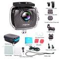 30M Waterproof Action camera Magicsee P3 VR panoramic camera  dual lens camera 3040*1520P Full HD 4K VR Camera