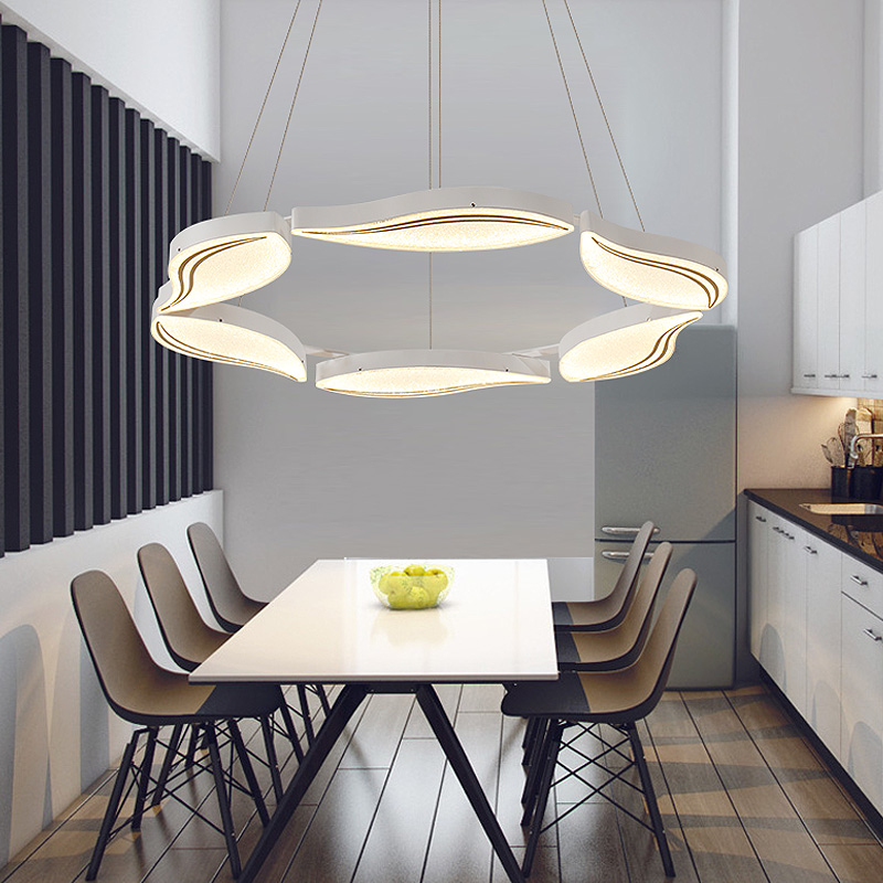 Modern Pendant Lights Kitchen Living Dinging Room Light Fixtures LED Hanging Lamp Luminaires AC90-260V