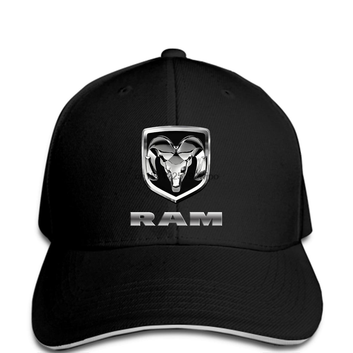 Unisex Baseball Cap with Embroidered Dodge Ram Car Logo