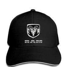 7d304cb7bd654 Men Baseball cap JH DESIGN GROUP Dodge RAM With Exclusive American Flag  Sticker funny cap novelty