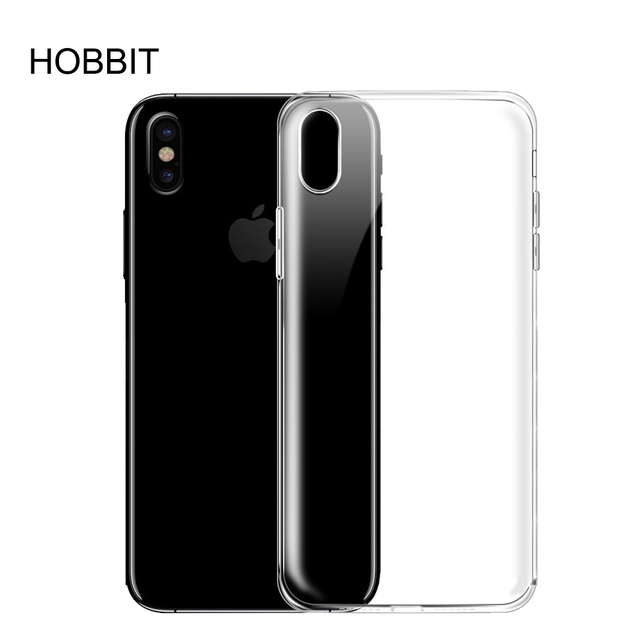 new concept fb7c8 77059 US $2.99 25% OFF Soft TPU Transparent For iPhone 8 Silicon Material Ultra  Thin Slim TPU Back Cover Case For iphone8 mobile phone Cases-in Fitted  Cases ...