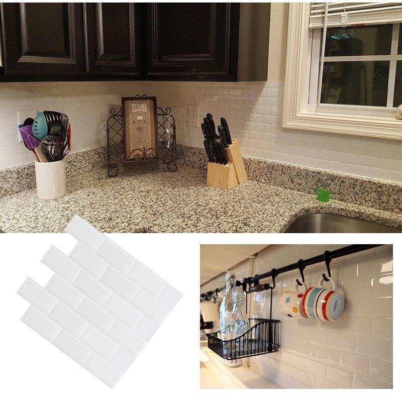 Aliexpress Com Buy White Subway Back Splash Tile Peel