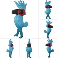 2018 new The Parrot Inflatable Clothing Parrot Style Inflatable Costume Fancy Dress Party Props Performance Costume