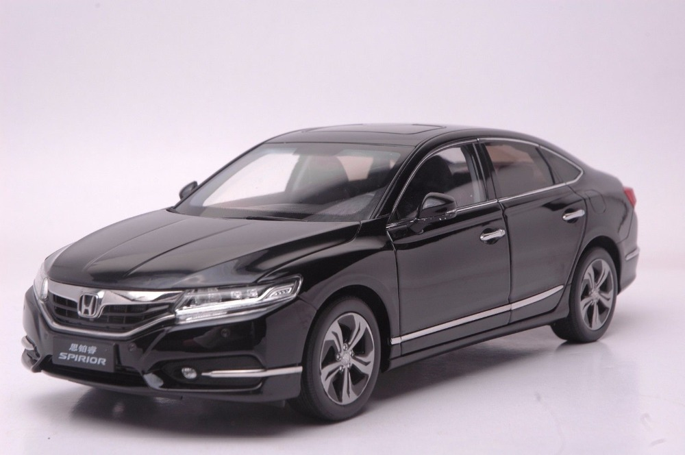 1:18 Scale Diecast Model Car for Honda Spirior Accord 2015 Black Alloy Toy Car Collection CRV CR V maisto bburago 1 18 fiat 500l retro classic car diecast model car toy new in box free shipping 12035