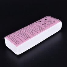 80 Pcs /Pack Roll Waxing Health Beauty Waxing Depilatory Pap