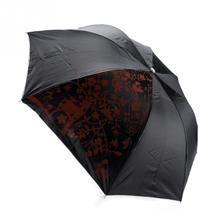 Portable Creative Three Folding Wine Bottle Sun-rain Umbrella