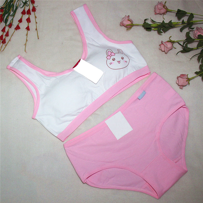 597f84f8eb03a Girls Underwear Set Thin Girl Stylish Lingerie Bra Underwear Child Vest  Girls Set New Cotton Brand Design 167-in Bras from Mother   Kids on  Aliexpress.com ...