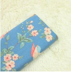 Denim płótnie cartoon rose drukuj tkaniny DIY torebka sofa poduszka tkanina na poduszkę
