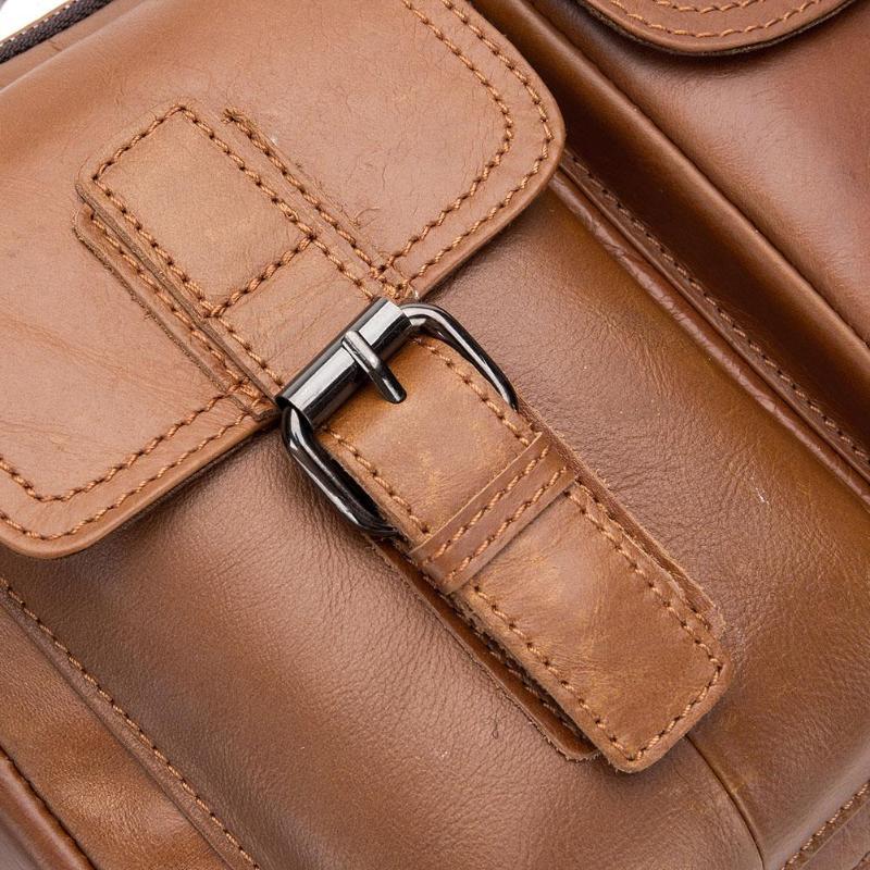 HTB1G3.GPQzoK1RjSZFlq6yi4VXaV Men Business Briefcase Vintage Genuine Leather Laptop Messenger Bag Cowhide Big Capacity Tote Office Handbag Men Briefcase