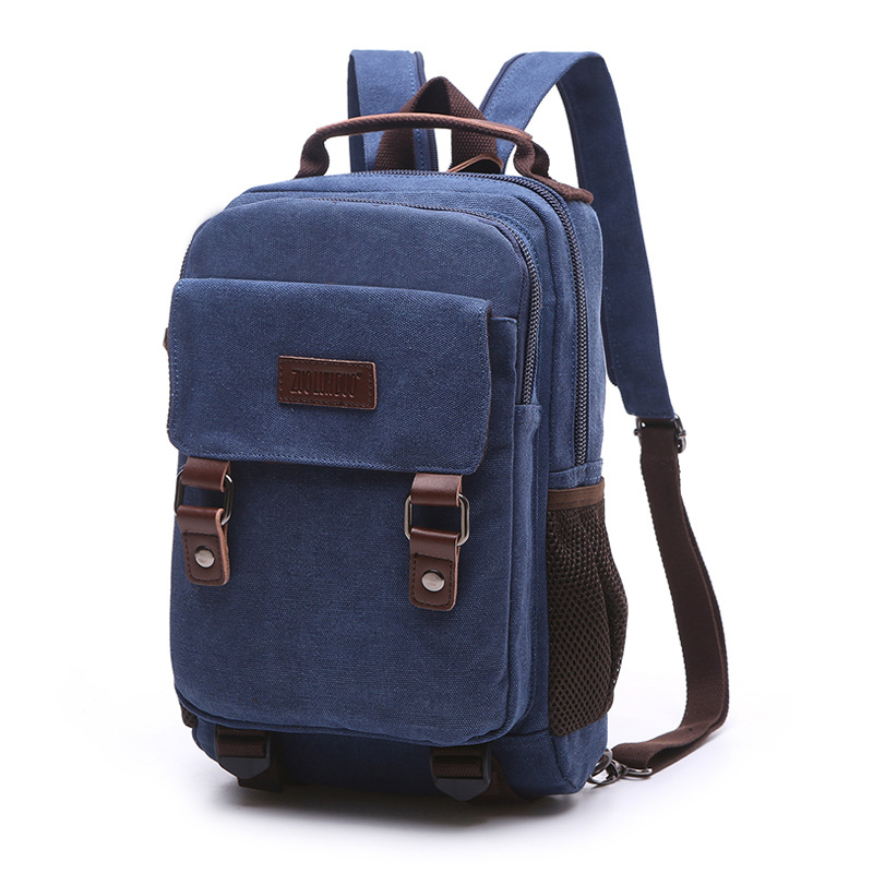 High Quality Men Laptop Backpack For  Computer Waterproof School Backpack Bag For Teenage Canvas Shoulder Backpack Men(China)
