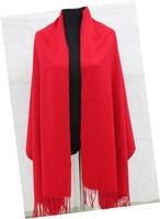100% cashmere scarf pashmina fashion solid Classic 3 colors