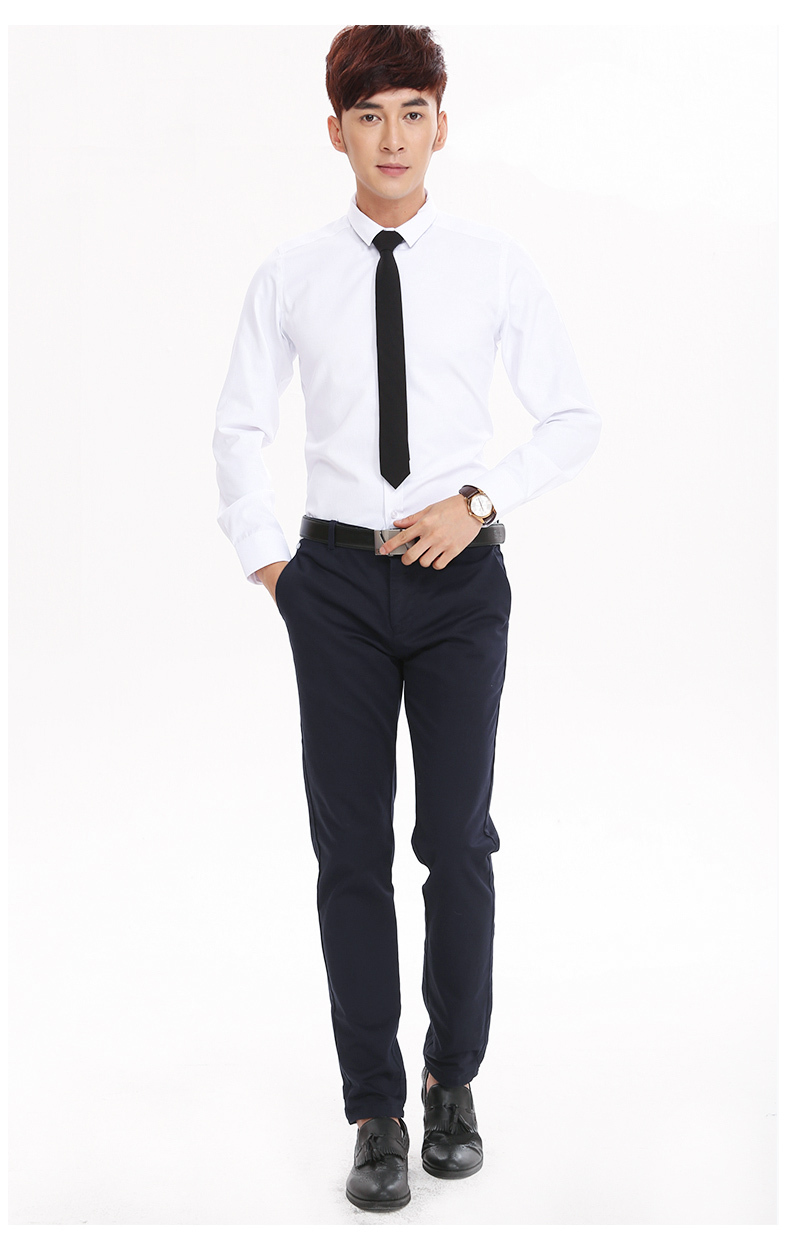 popular professional business casual buy cheap professional fashion male shipping white men s man suit slim long sleeved formal shirt professional business casual