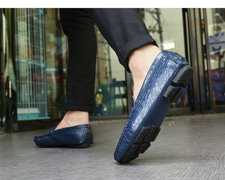 alta qualidade sapatos masculinos de couro genuíno