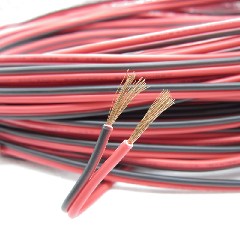 Image 4 - 10m 16AWG Electrical wire LED cables UL2468 IEC 42 RVB 300V copper Red black cable extend wire For LED Strip,PVC insulated wire-in Wires & Cables from Lights & Lighting