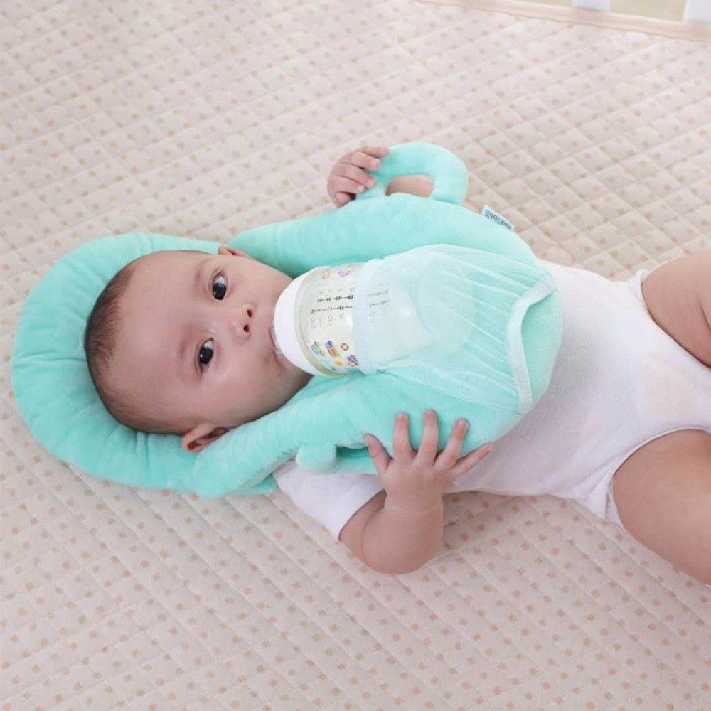 Soft Baby Care Feeding Support Seat Plush Infant Feeding Seat Keep Sitting Posture Comfortable For 0-2years Children