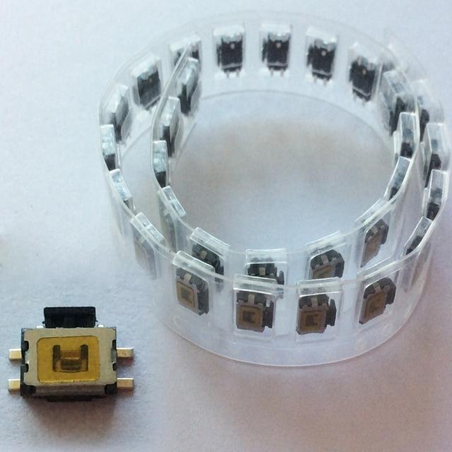 100x tact switch para motorola ep450 gp2000 gp88s rádios portáteis