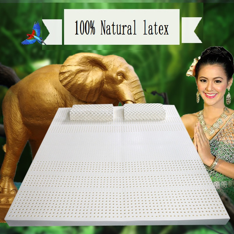 SongKAum 100% Natural Latex Memory Mattress High Quality Mattress  5CM Improving Sleep Quality