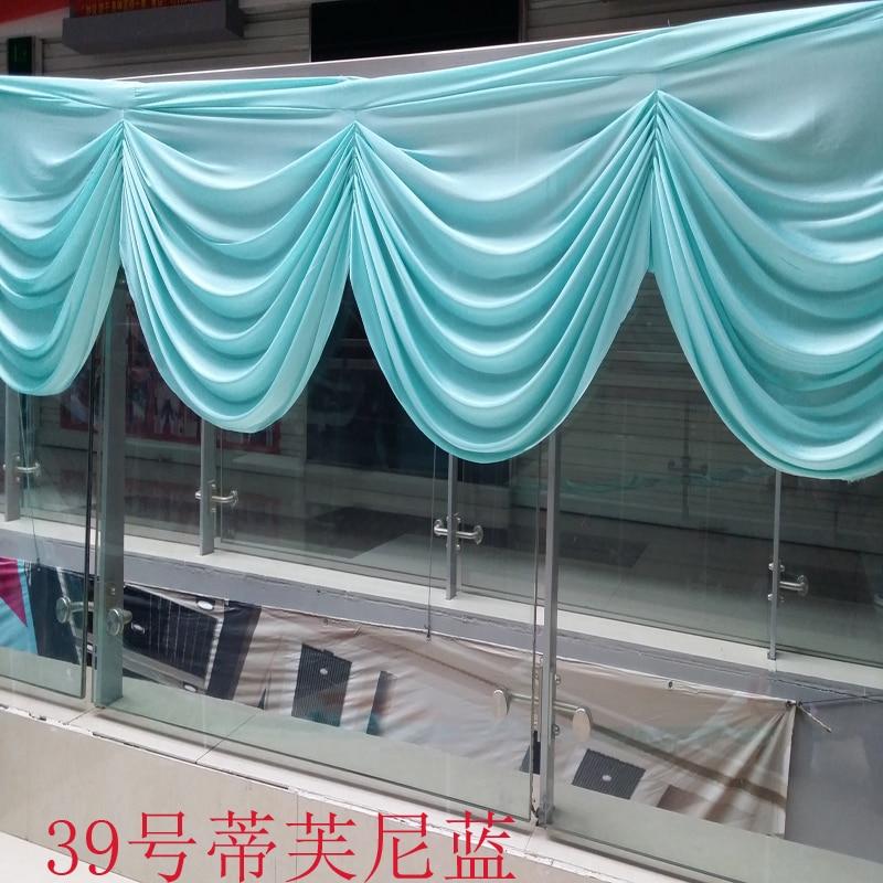 Toy fonunda Dekorasiya Masası Dekorasiyası üçün 6m uzunluğunda - Şənlik aksesuarları - Fotoqrafiya 4