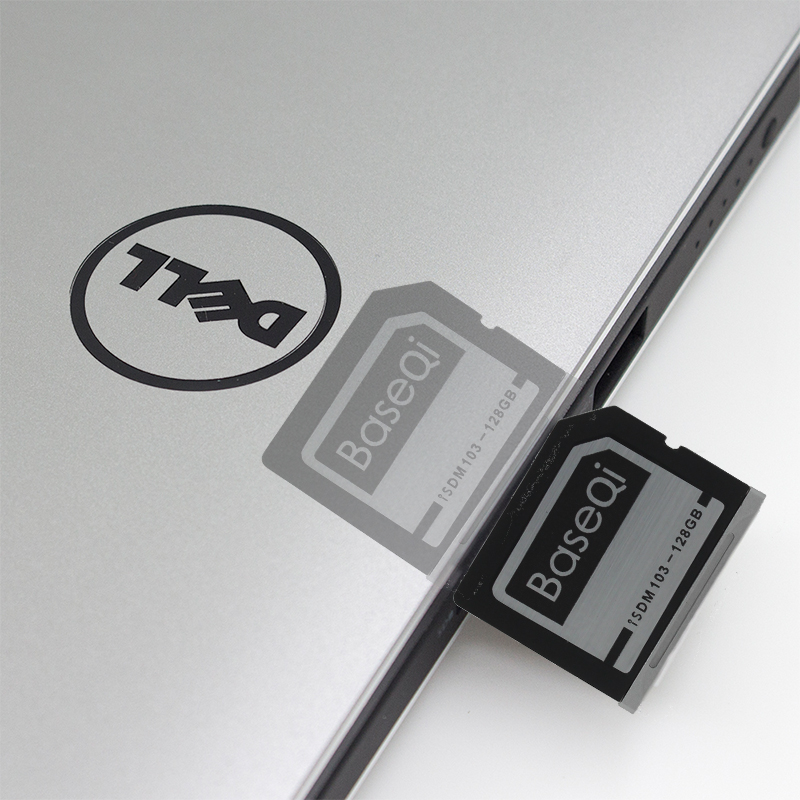 US $83 99 16% OFF|BaseQi Aluminum Mini Drive 128GB SD Card For Dell XPS 15