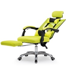 WB# 3421 Black and white tone computer home gaming swivel ergonomic seat chair, office chair game