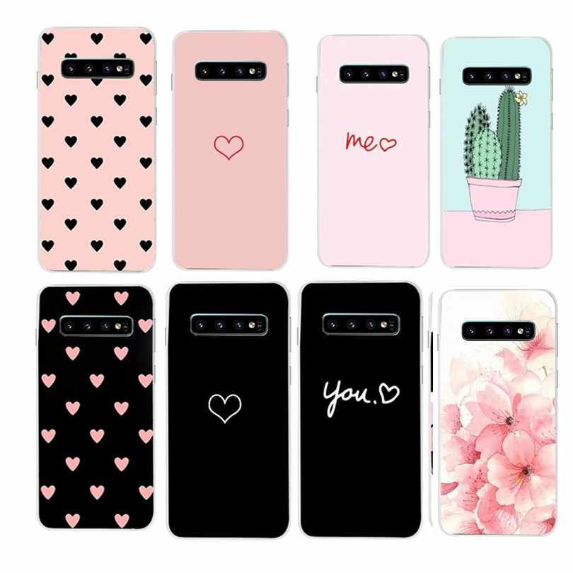 Case For Samsung Galaxy S10 Plus S10e A70 A30 A40 A50 A10S Cover Protective For Samsung S 10 + S10 E S10Plus S10Lite Coque Cases