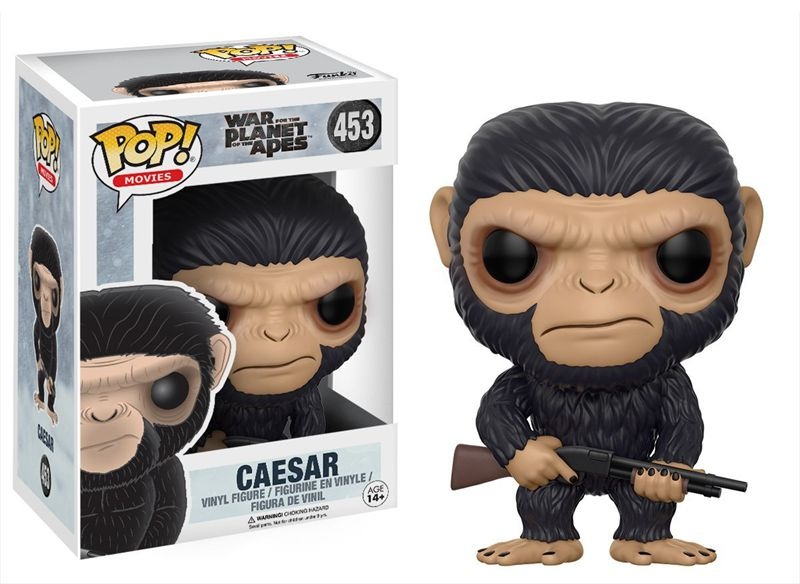 Funko pop Official Movies: War for the Planet of the Apes - Caesar Vinyl <font><b>Action</b></font> <font><b>Figure</b></font> Collectible Model Toy with Original Box