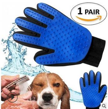 Pet Multifunction Puppy Five Finger Bath/Massage Brush Multi Unhair Depilate Comb Bath Tools & Accessories Bath & Body HA138