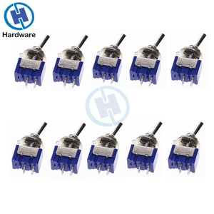 Image 1 - 10pcs MTS 101 2 Pin SPST ON OFF 2 Position 6A 250V AC Mini Toggle Switch