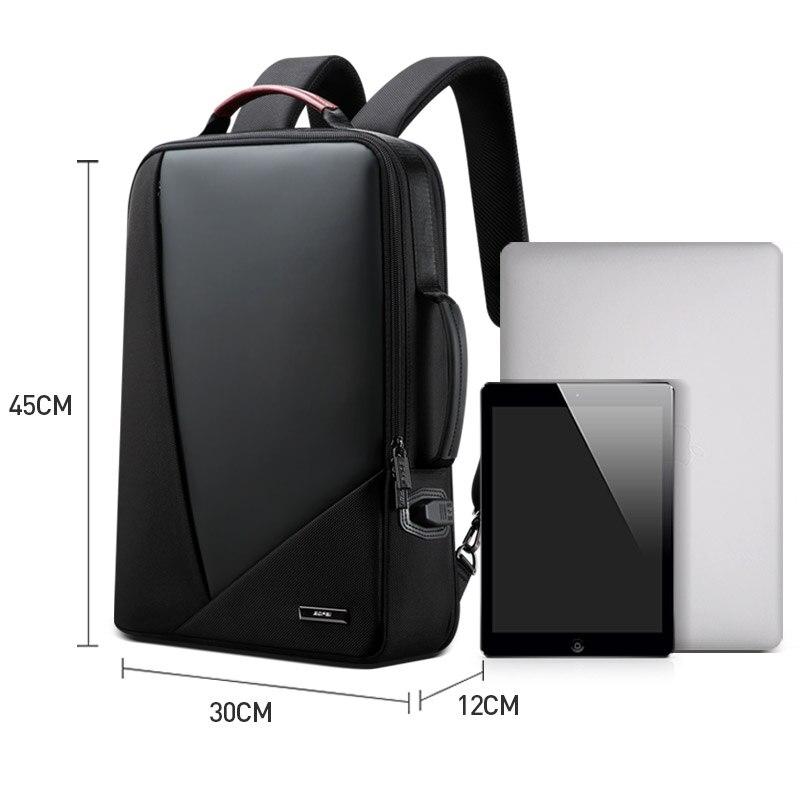 BOPAI hombres de negocios de mochila usb Anti robo de bolso de la computadora el aumento de la capacidad de mochila para portátil - 2
