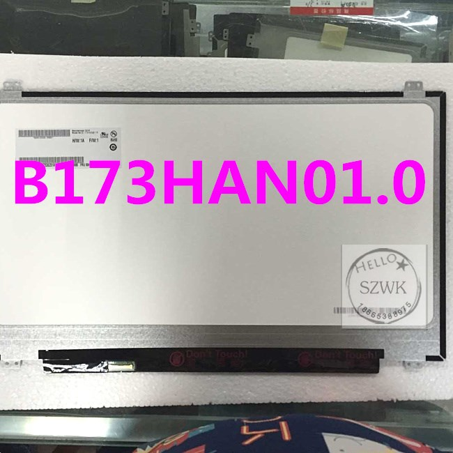 17.3 inch Laptop LCD Touch Screen For Dell LTN173HL01 B173HAN01.0 N173HCE-E31 IPS 1920X1080 Replacment Display Screen laptop lcd lp140wf1 sp b1 for dell e7440 with touch lcd screen led display brand new 1920 1080