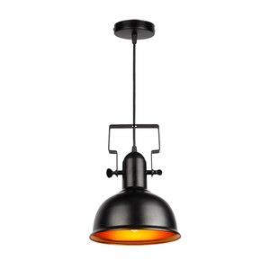 Image 2 - בציר תליון אור תעשייתי תליון מנורת רטרו ברזל תליית מנורת E27 cocina accesorio לבית וחנות דקורטיבי תאורה