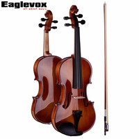 4 4 Violin Pinus Bungeana Top Maple Back And Sides With Lightweight Hard Case