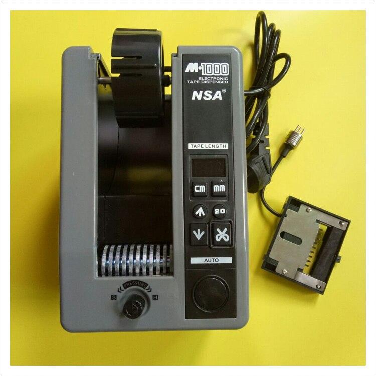 P096 высокое качество АНБ бренд Клейкие ленты машины реальная вещь автоматический Клейкие ленты диспенсер m-1000 только 220 В упаковка Клейкие ле...