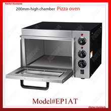 EP1AT electric single layer higher chamber pizza bakery oven with timer for commercial use for making bread, cake, pizza commercial automatic bakery gas electric bread baking oven bakery machinery for bread making bakery rotary rack ovens for sale
